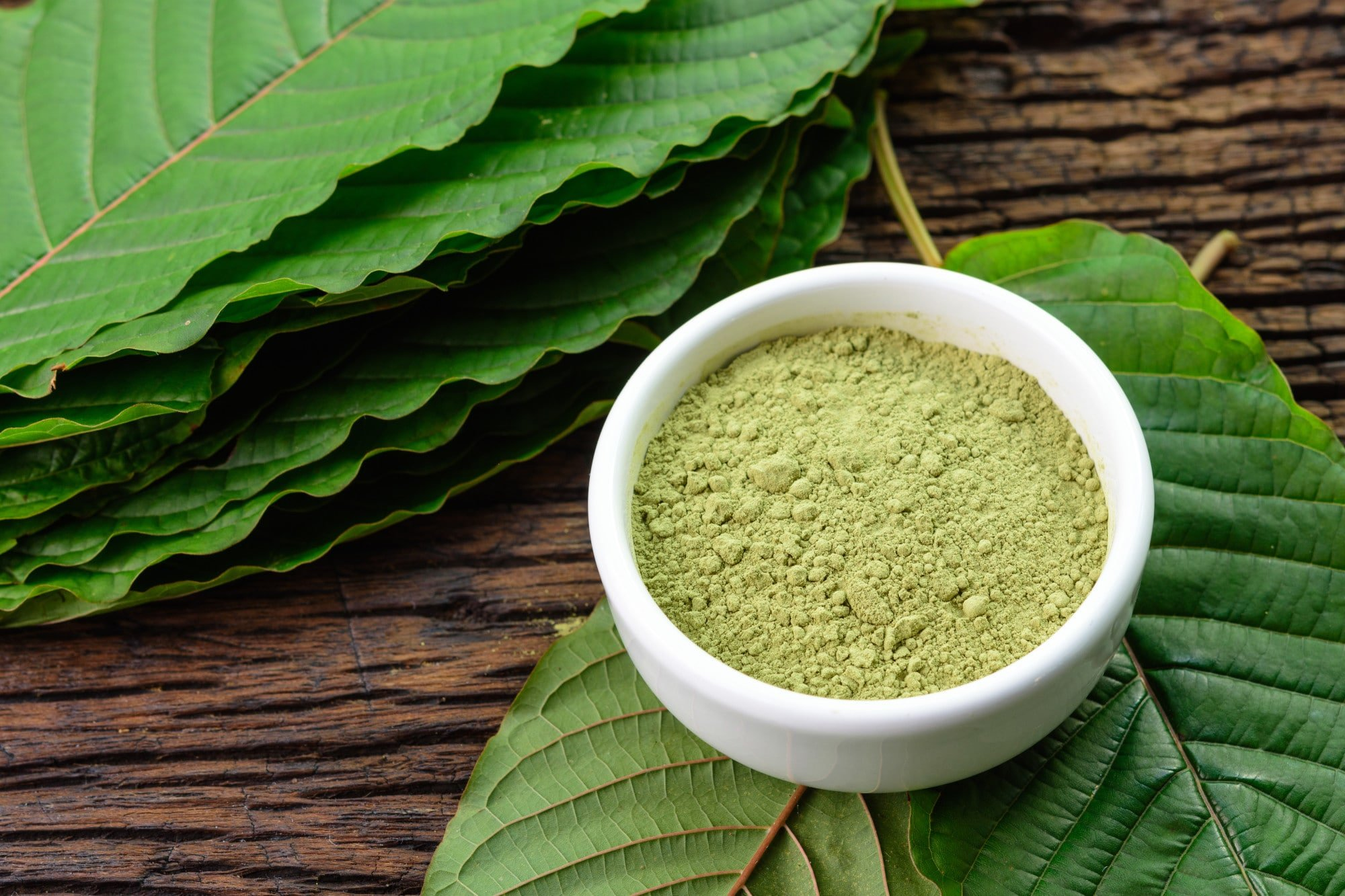 Different kinds of kratom